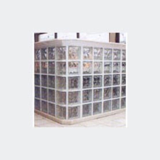 panneaux prefabriques raccordables ou non en briques de verre panneaux standards