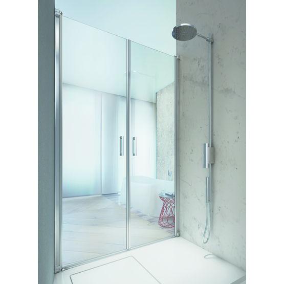 porte vitree reversible pour douche linea