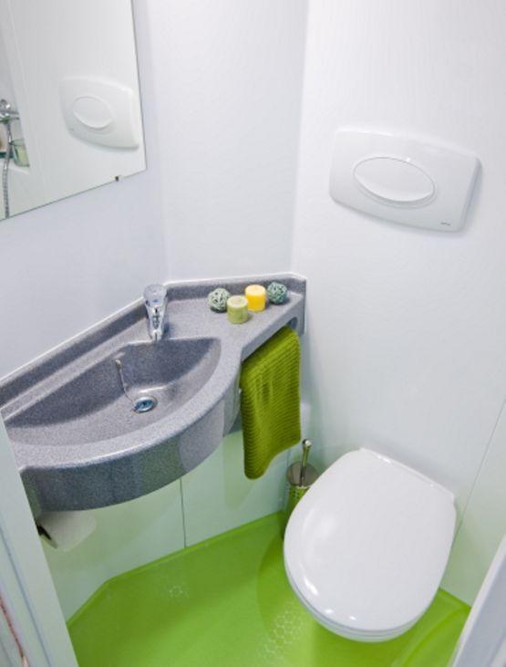 salle de bain prefabriquee ultra compacte onyx gamme baudet intial