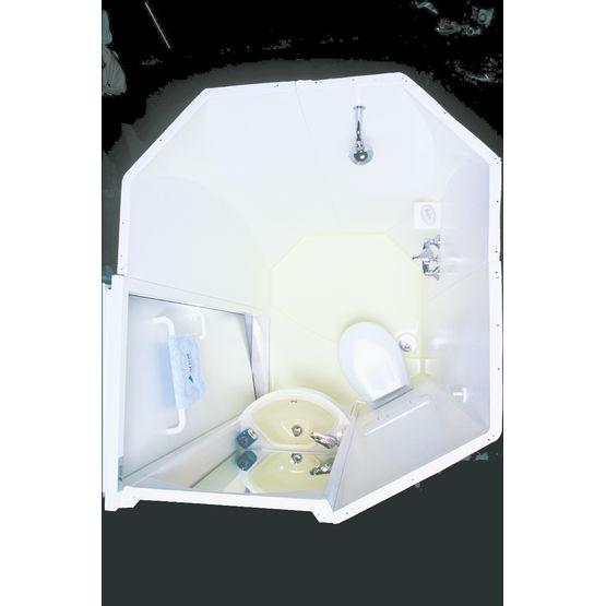 Salle De Bains Monobloc En Materiau Composite Hydrogene Altor Industrie