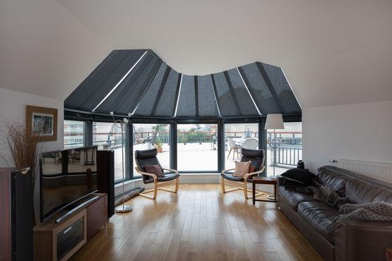 store anti chaleur pour toiture de veranda vega