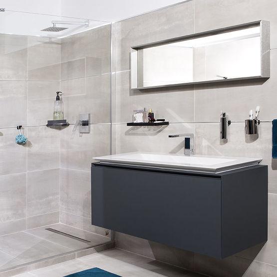 systeme de fixation des accessoires cosmopolitan sans percage pour la salle de bain fixmi