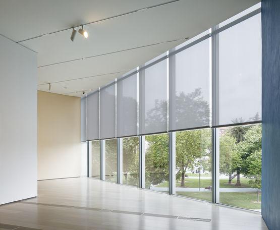 tissus en fils de verre enduits pour stores et structures interieurs decoratifs m screen 8501 8503 8505