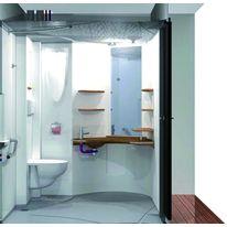 bloc sanitaire prefabrique thermoforme
