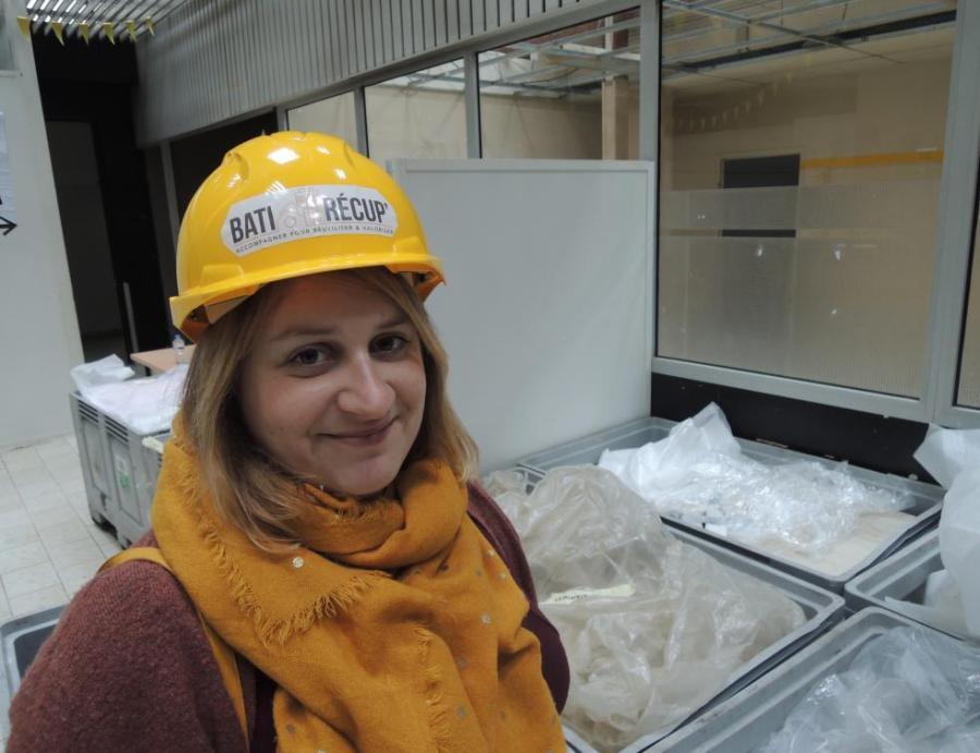L'architecte Sarah Fruit