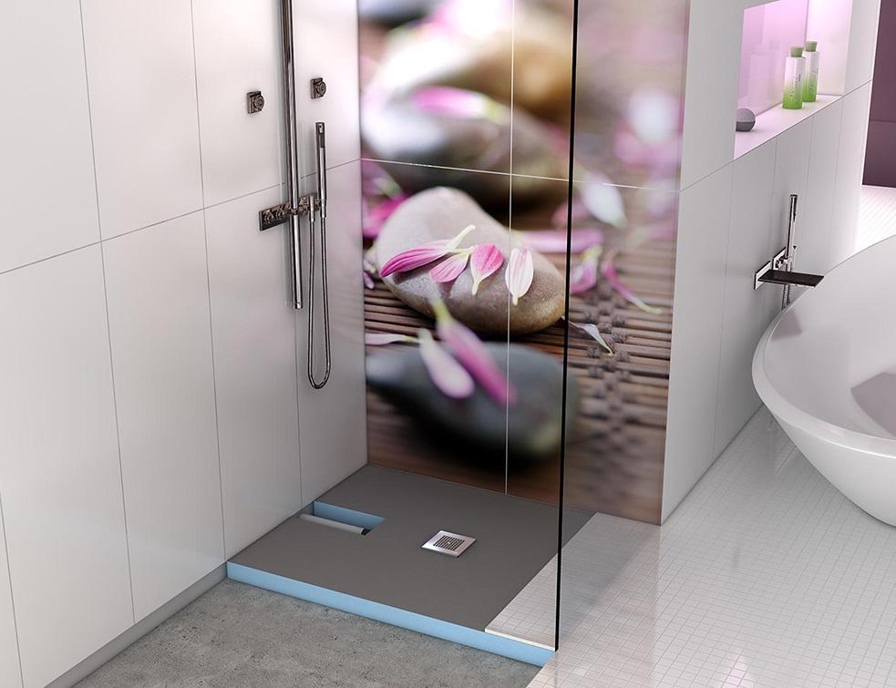 le receveur de douche extra plat de wedi