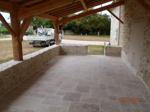 creation d 39 un terrasse couverte saint orens pouy petit. Black Bedroom Furniture Sets. Home Design Ideas