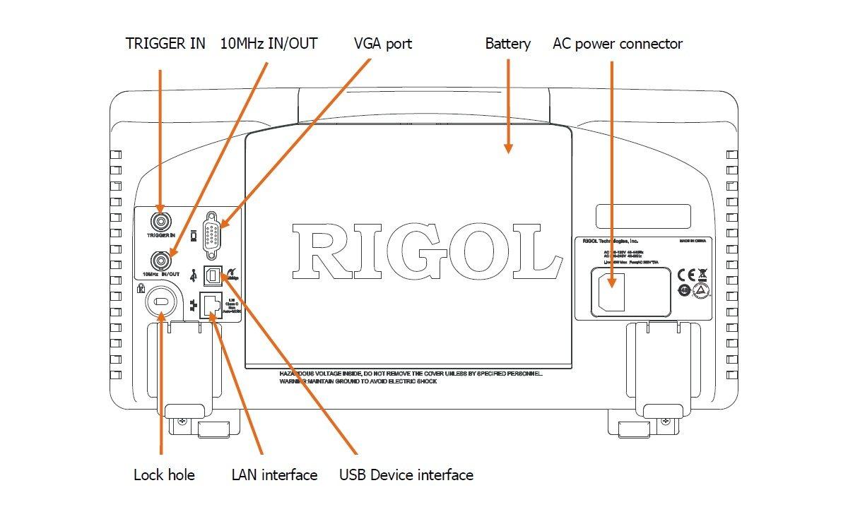 Rigol DSA1030A Spectrum Analyzer