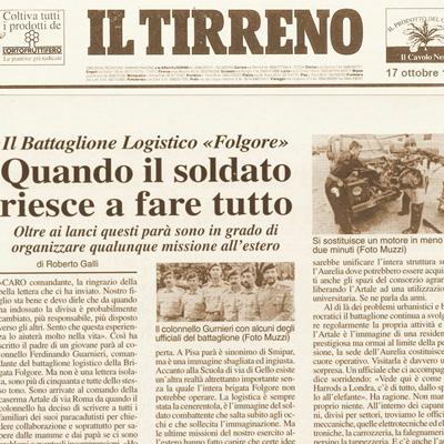 17 ottobre 1995 Quando il soldato riesce a fare tutto