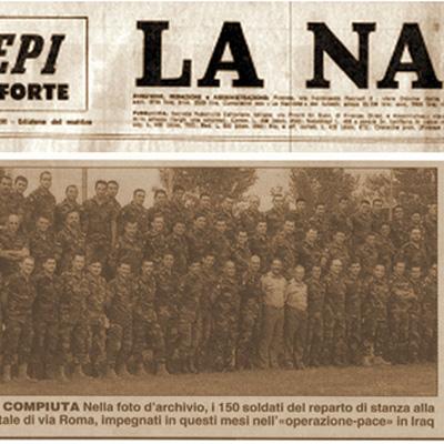 14 febbraio 2004 Due C130 della 46^ riportano a casa gli ultimi militari del Reggimento di Manovra