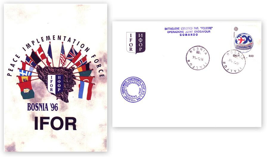 IFOR – Bosnia 1996