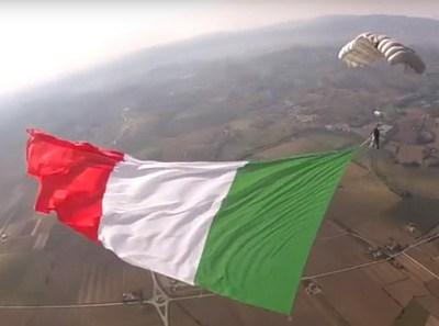 Il tricolore più grande del mondo