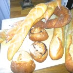 A fine array of French breads