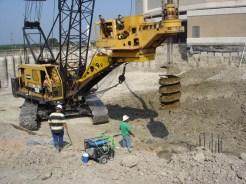 American 7620 Crane with Watson 5000 Drilling Attachment