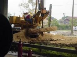 Drilling under Hwy 59: Houston, TX