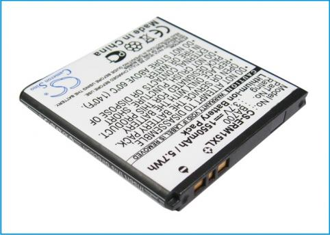 BATTERIE TELEPHONE SONY ERICSSON xperia neo, mt15a, mt15i