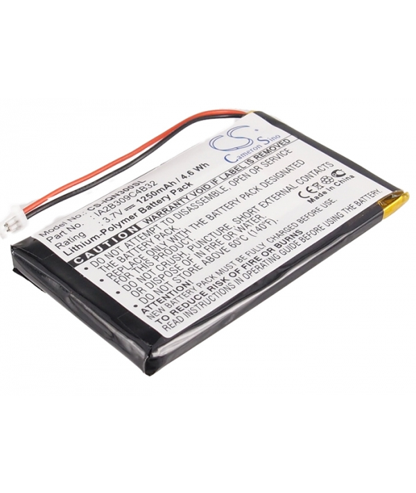 3.7V 1.25Ah Li-Polymer battery for Garmin Nuvi 300