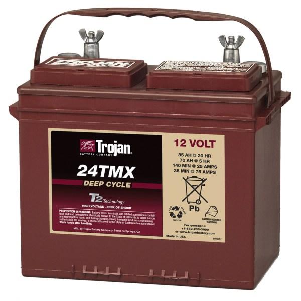 Trojan 24tmx 12v 85ah Group 24 Flooded Deep Cycle Battery