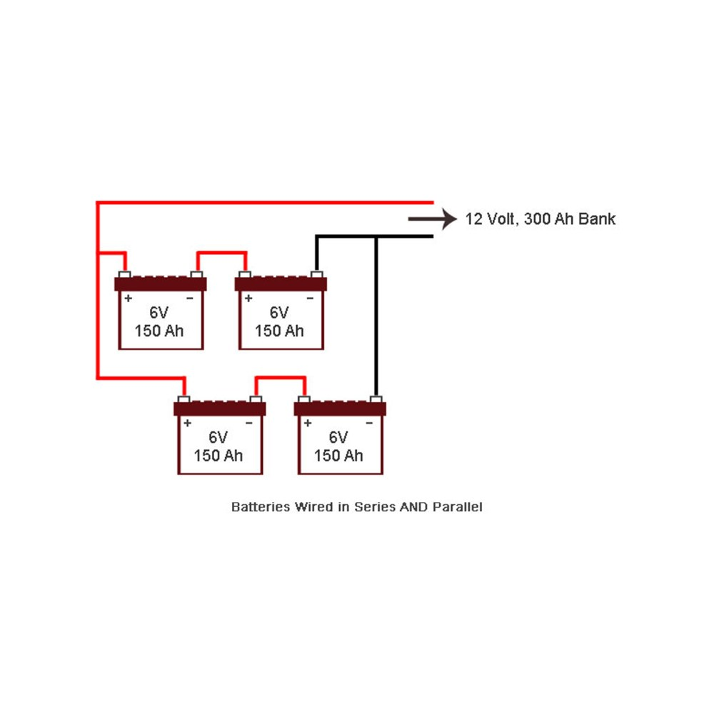 medium resolution of wiring your battery bank in series parallel and series