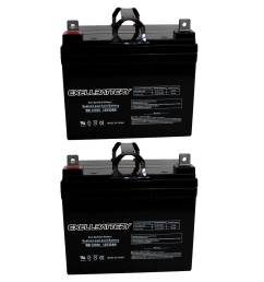 new 2pc 12v 35ah u1 sla jazzy select gt power chair scooter battery fast ship [ 1600 x 1600 Pixel ]