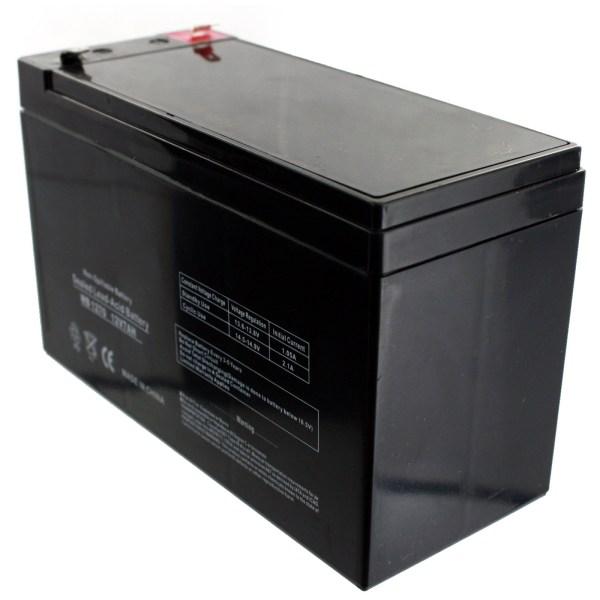 4pk 12v 7ah 8ah Sla Batteries Replaces Ub1270 Ub1280 Razor Scooter Sealed Lead