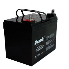 Wheel Chair Battery Desk Modern New 2 Pack 12v 35ah Sla Wheelchair Scooter Batteries