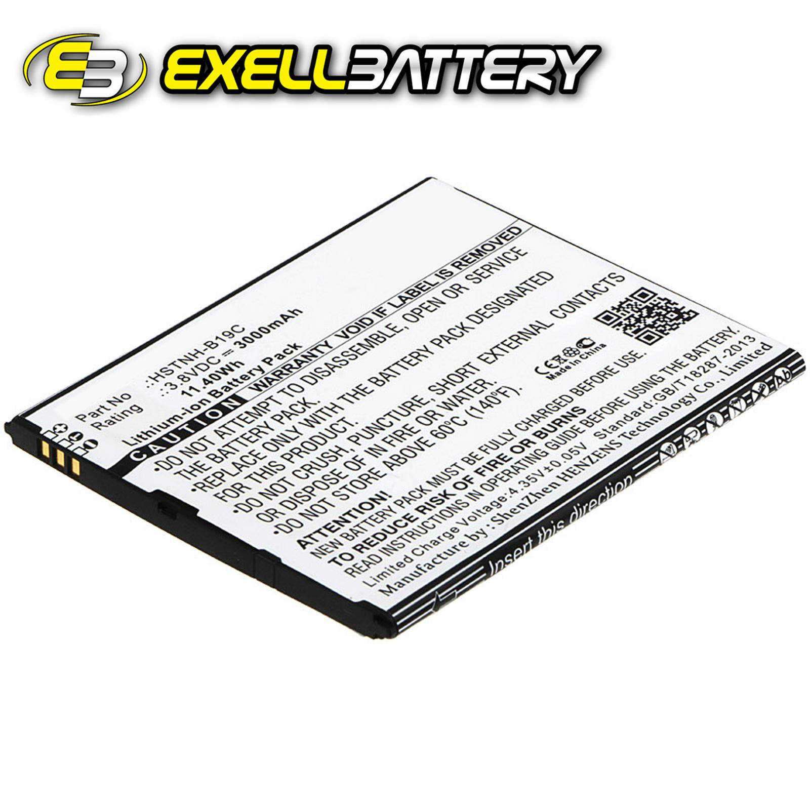 3.8V 3000mAh Tablet Battery Fits HP 6301RA, Pomegranate