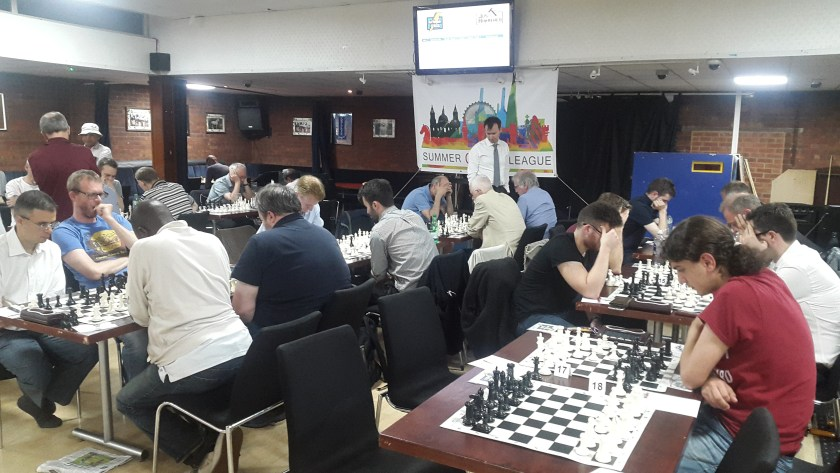Summer Chess League players in action during week 2