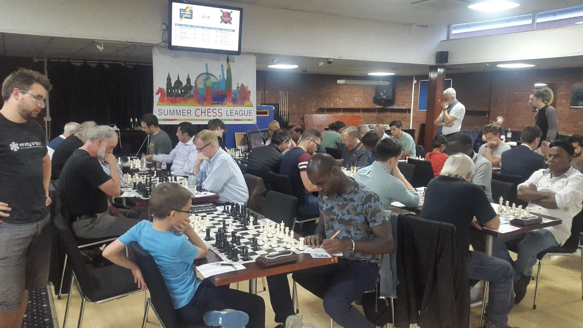 Battersea teams fight for top spot in first Summer Chess League
