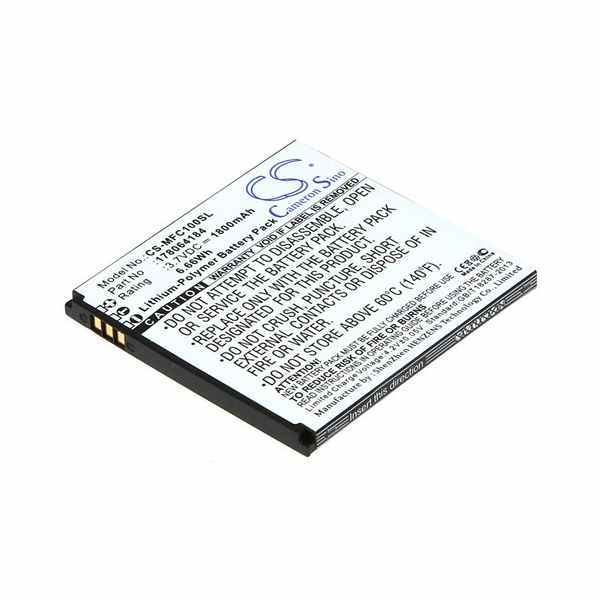 Replacement Battery For Mobiwire 178064184 Cygnus
