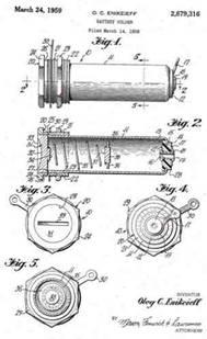 Battery Holders History