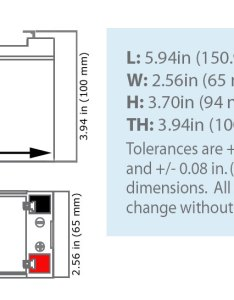 Sla   dimensions also np volt ah rechargeable sealed lead acid battery rh batterymart