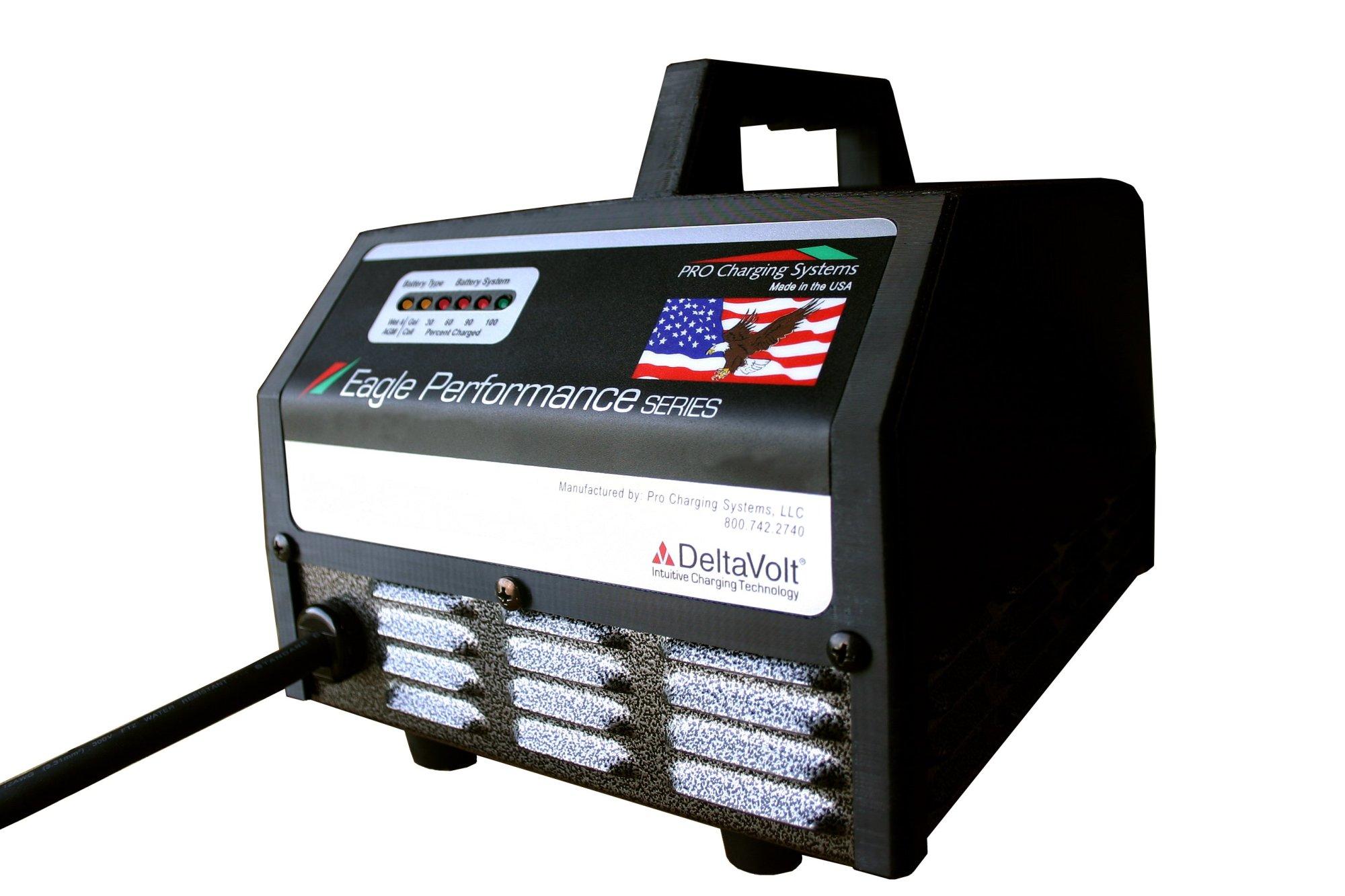 hight resolution of dual pro eagle performance series portable 48v 18a club car bypass i4818dvcc618 batterymart com
