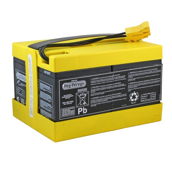 Peg Perego Original 24 Volt Yellow Battery