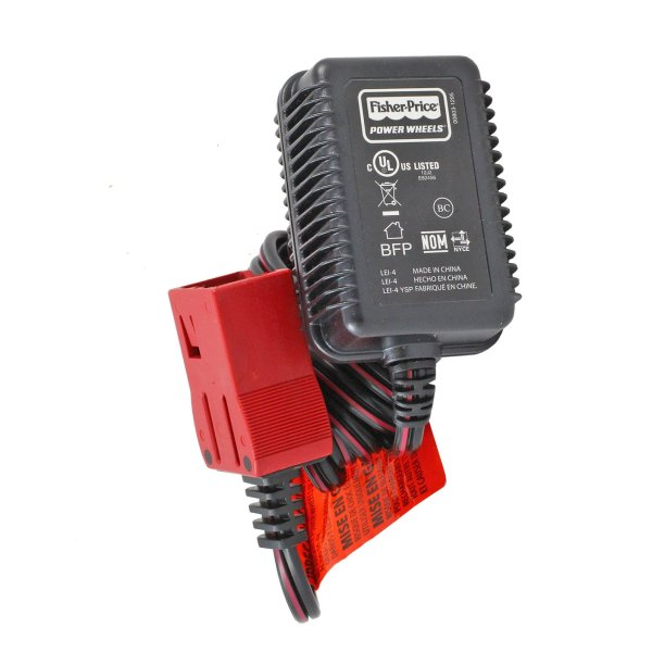 6 Volt Plug Power Wheels Battery Charger Red Batteries