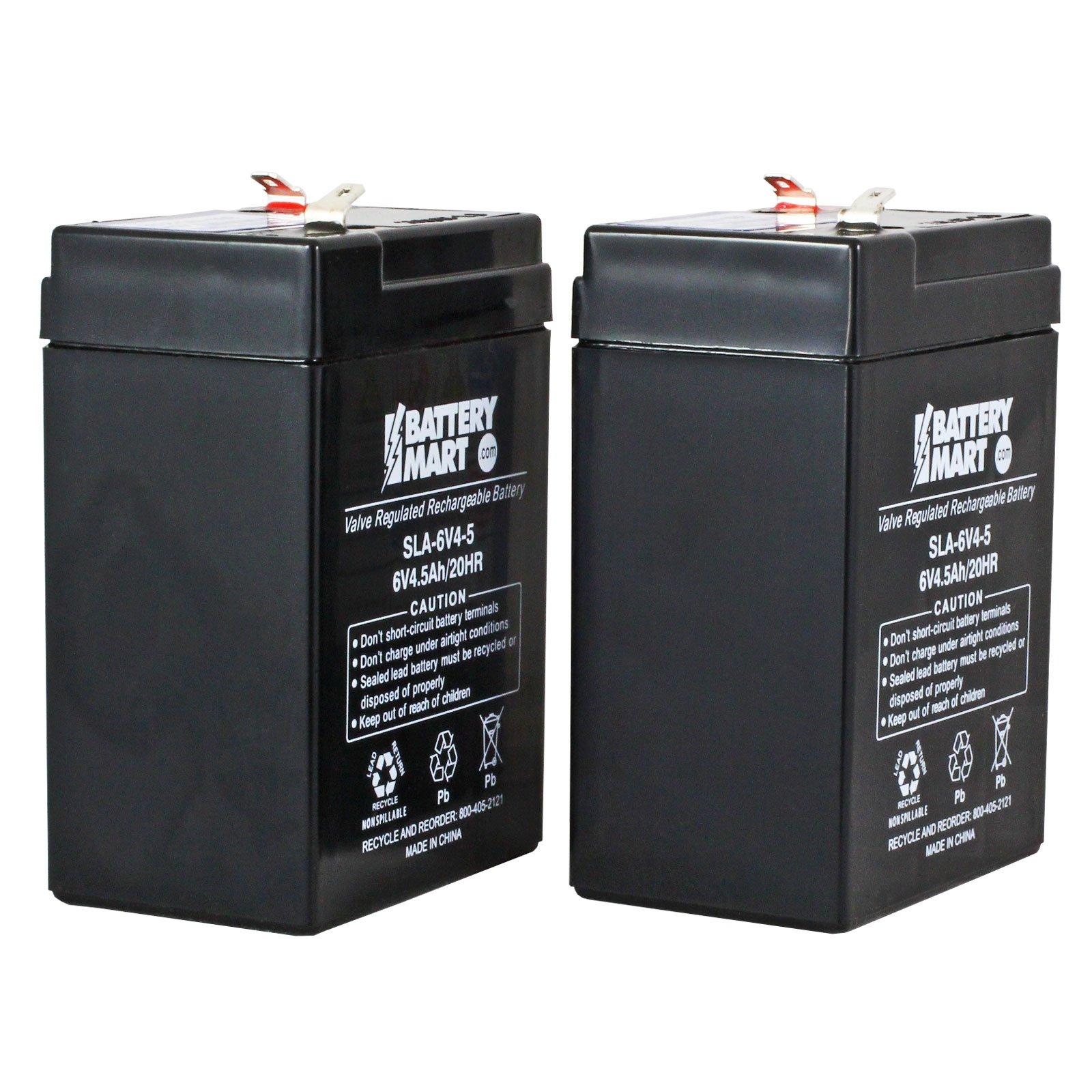 6 Volt Rechargeable Battery