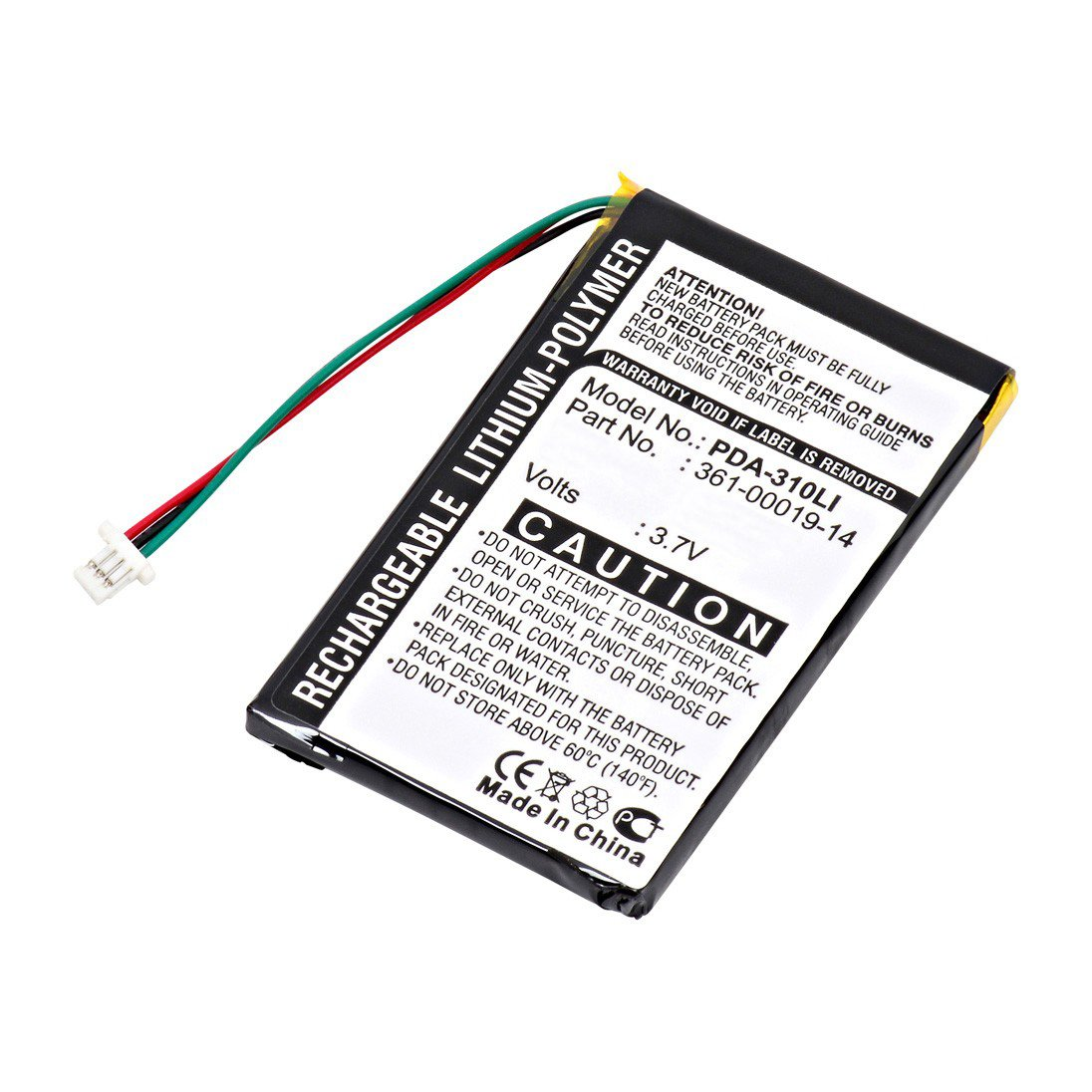 Replacement Garmin 361-00019-14 Battery: BatteryMart.com