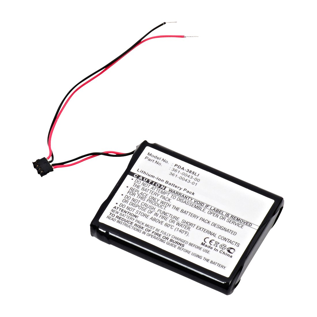 Replacement Garmin GPS 361-0043-00 Battery: BatteryMart.com