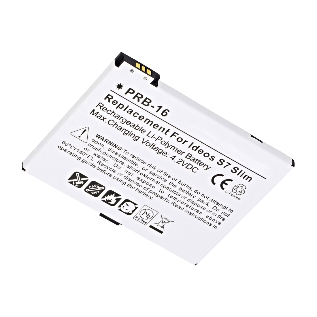 Replacement Huawei Ideos S7 Slim Tablet Battery