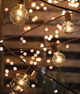 outdoor string lights battery
