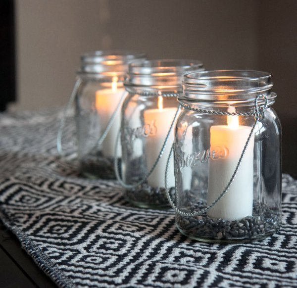 Moving Flame 3 Ivory Votives Battery Operated Set Of
