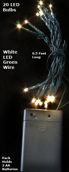 Led Cool White Christmas Lights