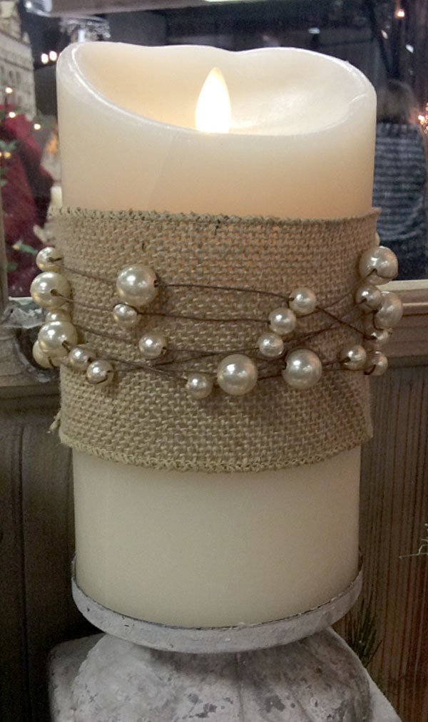 Pearl And Wire 28 Foot Garland Buy Now