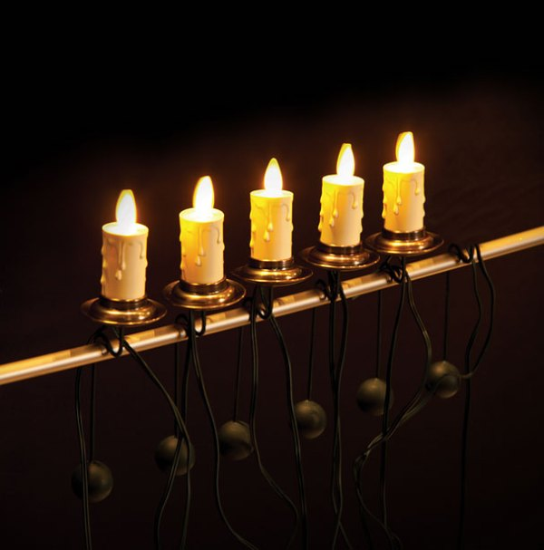 Luminara Christmas Tree Candles Set of 5 Candles 6