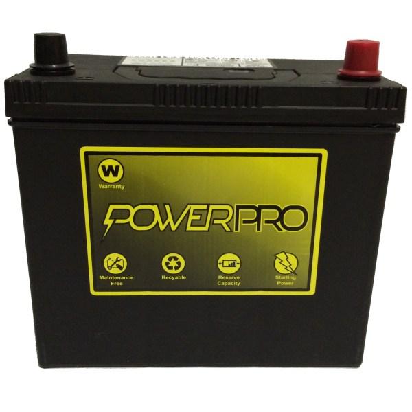 Powerpro 12v Automotive Battery 51r-4 - Pete