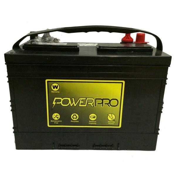 Powerpro 12v Deep-cycle Marine Battery Ppm27-dc - Pete