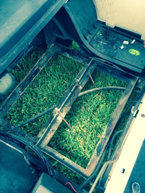 small resolution of ezgo golf cart battery bank frame area batterypete com