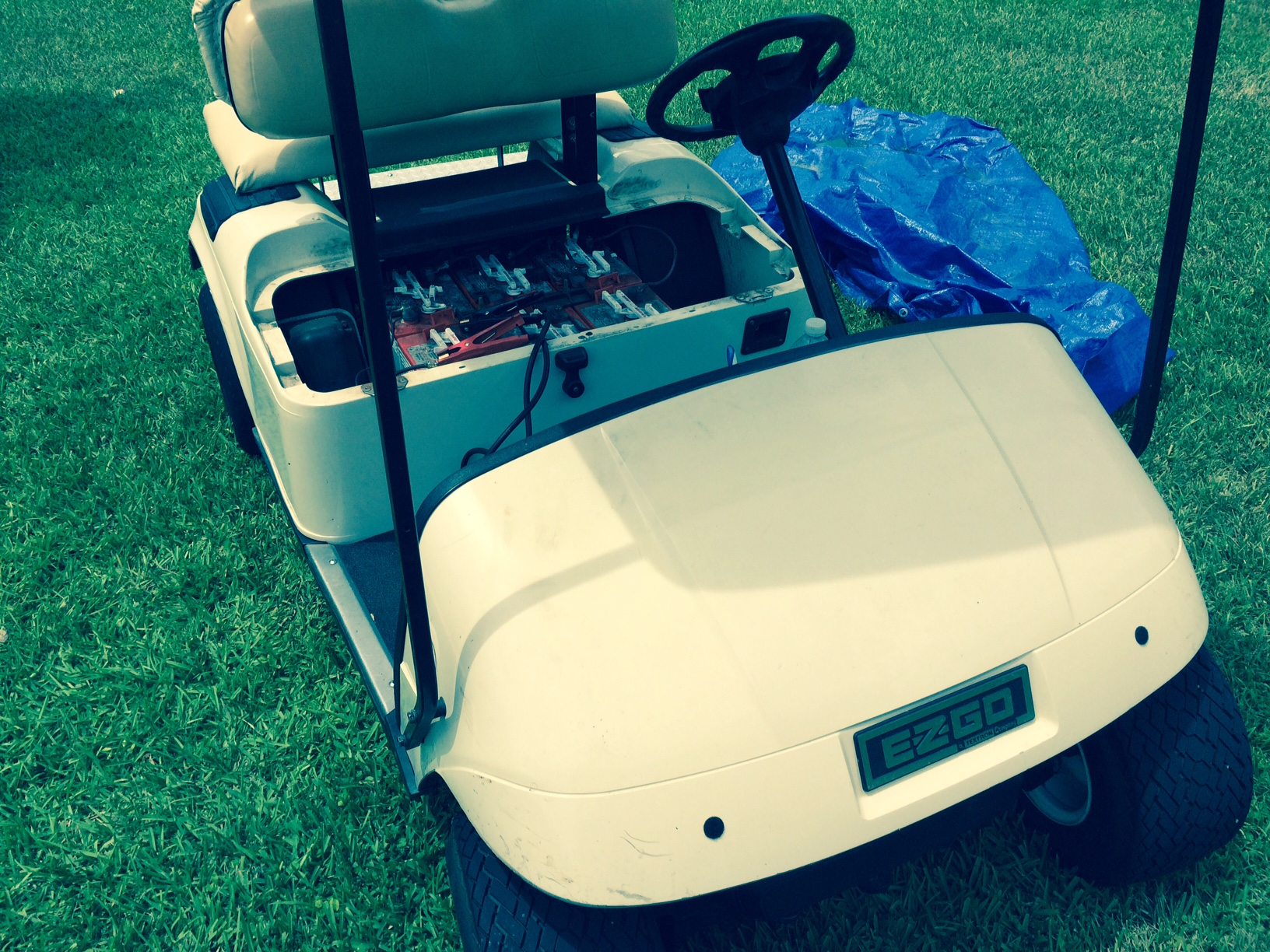 hight resolution of how to do your own ezgo golf cart battery installation