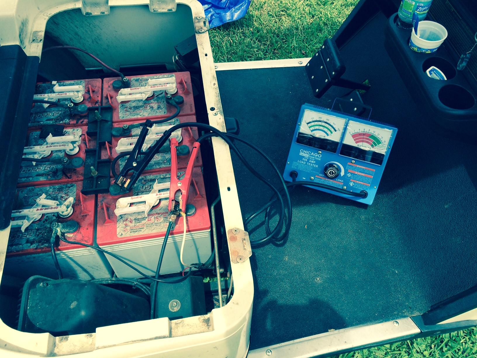 hight resolution of ezgo golf cart battery bank load test batterypete com