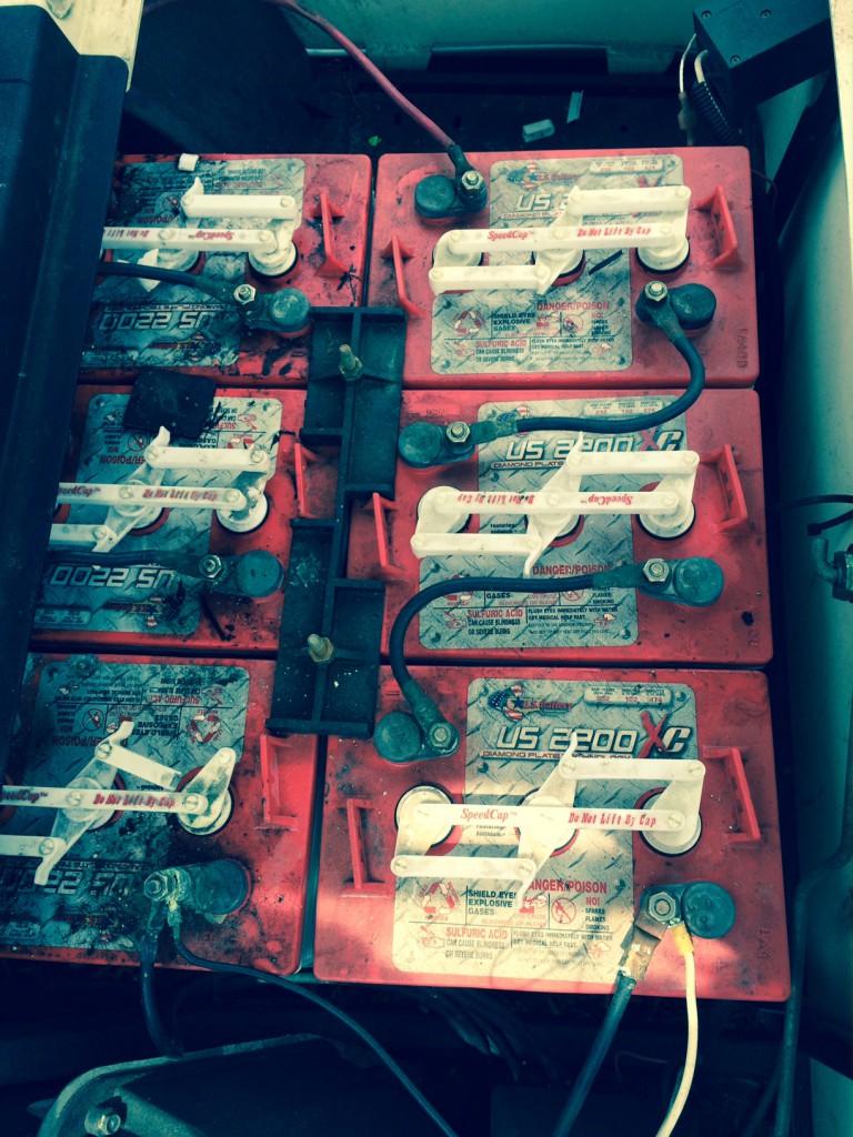 medium resolution of ezgo golf cart battery bank